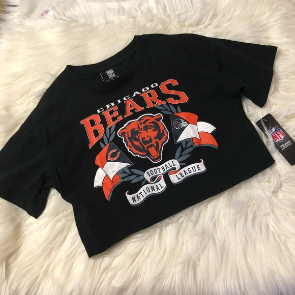 7e0e57b9 NFL Chicago Bears crop top NWT